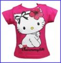 Футболка детская для девочек «Charmmykitty» (Китти) розовая, бренд «Sanrio» (Англия)