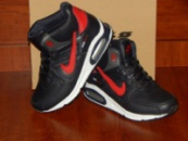Nike Air Max черные с красным