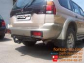 Тягово-сцепное устройство (фаркоп) Mitsubishi Pajero Sport (1998-2008)