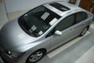 Honda Civic 4D (эффект панорамной крыши)