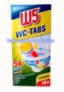 WC Таблетки для чистки унитаза W5 (16 шт) Лимон