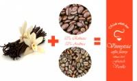 Кава зернова ароматизована Вінницька Фарбрика Кави Французька Ваніль 1000 гр.