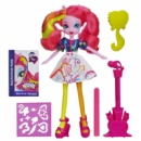 My Little Pony Equestria Girls Pinkie Pie Doll With Markers and Microphone