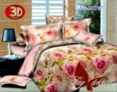 Двуспальный комплект постельного белья РОМАНС, ранфорс