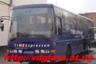 Лобовое стекло для автобусов Volvo B 10 B в Никополе