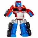 Deluxe Set Transformers Rescue Bots Optimus Prime with Trailer, Боты спасатели Большой Оптимус Прайм