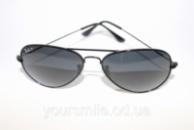 Легендарные очки Ray Ban Aviator Темные Поляризация