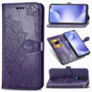 Кожаный чехол (книжка) Art Case с визитницей для Xiaomi Redmi K30 Фиолетовый