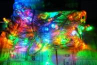 Гирлянда светодиодная LED 200,цвет:мульти,12м.