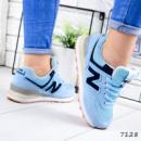 Кроссовки женские N голубые
