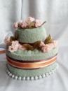 Торт из полотенец двухярусный №4
