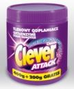 Кислородный пятновыводитель Clever Attack (порошок) 600гр