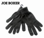 Перчатки взрослые и для подростков темносерые однотонные, бренд «Joe Boxer» (США)