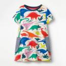 Платье для девочки Динозавры