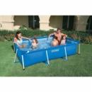 Каркасный бассейн Intex 28270. Курорт дома круглый год.