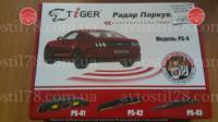 Парктроник TIGER PS-43 4 дат SLIM Black d=18,8mm