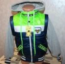 Демисезонная куртка для мальчика трансформер