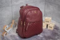 Рюкзак женские Zara, бордовые (90176),  [ 1  ]