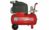Компрессор поршневой Vрес=24л COSMOS 2420 V230/50 CE ROSSO