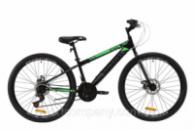 Велосипед ST 26« Discovery ATTACK DD 2020 (черно-зеленый с серым)