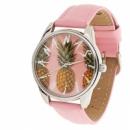 Часы наручные «Ананас» розовый