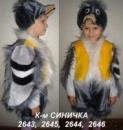 Синичка - карнавальный костюм на прокат
