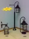 Светильник садовый настенный бра «Хатка» 4351