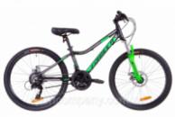 Велосипед 24« Formula ACID 2.0 AM 14G DD Al 2019 (черно-зеленый (м))