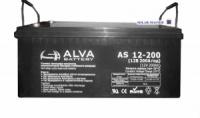 Гелевый аккумулятор ALVA AS12-200Ач
