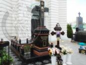 Гранитный комплекс - Крест на лаврах №1