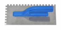 Гладилка нержавейка 125х270 мм зуб 6х6 мм