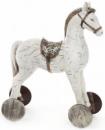 Статуэтка декоративная «Детская лошадка» 28см, светлая