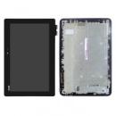 Дисплейный модуль для планшета Asus Transformer Book T101HA, черный, дисплей с тачскрином