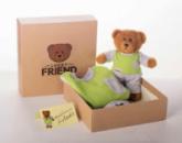 Комплект Lucky Friend домашний костюмчик-пижамка и мишка 116 см 5-6 лет