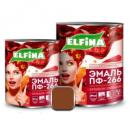 Эмаль ПФ-266 2,8 кг, Elfina жёлто-коричневая