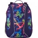 Рюкзак школьный каркасный Kite Neon butterfly K17-703M-1