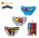 Трусы для мальчиков детские набор 3 шт. «Паровозики Чагинтон» (Chuggington), бренд «Ludorum»