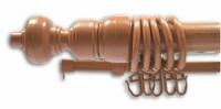 Карниз Черешня с пластиковой фурнитурой