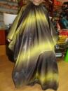 Пеньюар 140/150см черно-желтый