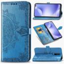 Кожаный чехол (книжка) Art Case с визитницей для Xiaomi Redmi K30 Синий