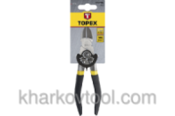 Кусачки боковые шарнирные Topex 180 мм