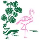 Интерьерная Наклейка Flamingo
