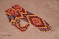 Гердан «Карпатські мотиви» - виготовлений з високоякісного чеського бісеру. Ексклюзивний дизайн від Руслани Назаревич