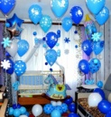 оформление на день рождения шарами