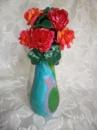 Статуэтка Вазочка с розами