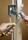 Укладка электрического кабеля