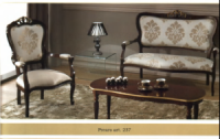 Чайный столик с креслом и кушеткой
