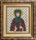 Набор для вышивки бисером Икона святая мученица Евгения