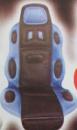 Накидка на сидение 19002 BL/BK высокая син.+черн.