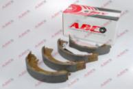 Барабанные тормозные колодки HYUNDAI GETZ 1.1, 1.3, 1.4, 1.5D, 1.6 2002- для авто с ABS, ABE C00518ABE